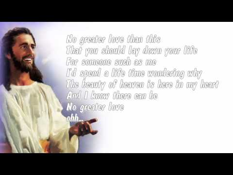 Rachel Lampa- No Greater Love Than This (instrumental With Lyrics)