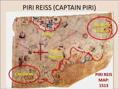 PIRI REIS: Ancient  Maps Had He -- Curious Alignments