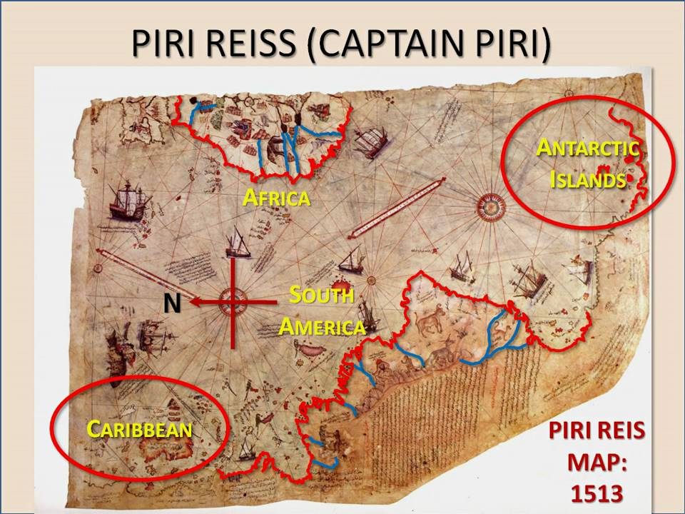 Piri Reis Ancient Maps Had He Curious Alignments Youtube