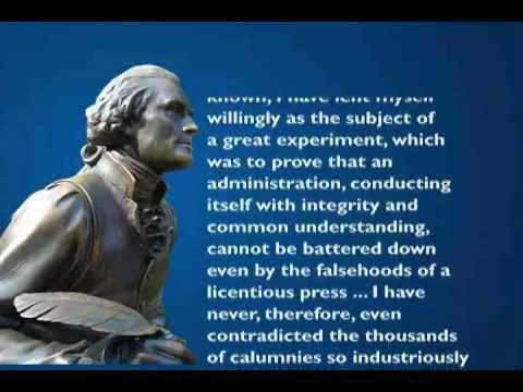Thomas Jefferson-An Innocent Man: Part 1 of 2 History
