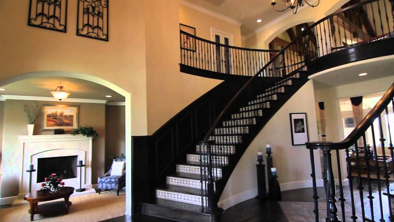 Grand homes hamptons model youtube for New model house interior design