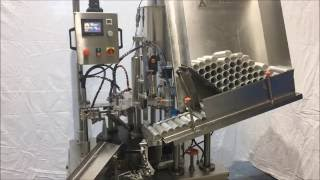 Tam Otomatik Tüp Dolum Makinası (Full Automatic Tube Filling and Sealing Machine)