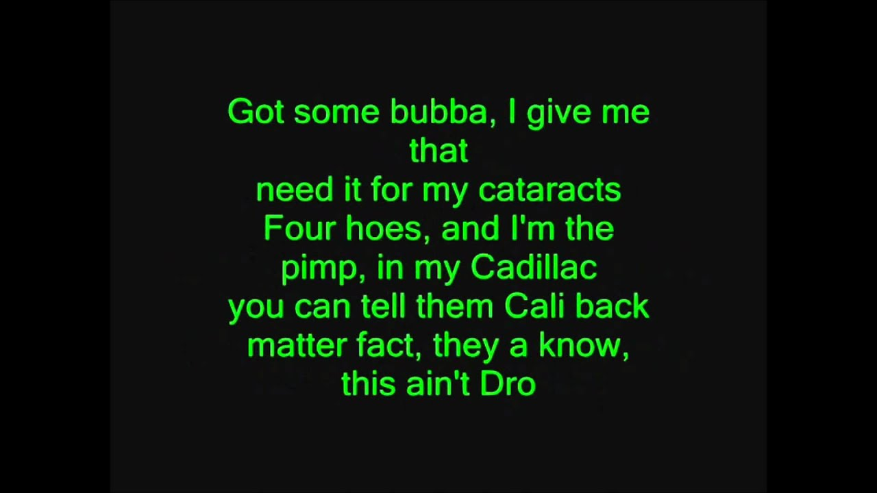 Kush (HD Lyrics) - Dr. Dre ft. Snoop Dogg & Akon - YouTube