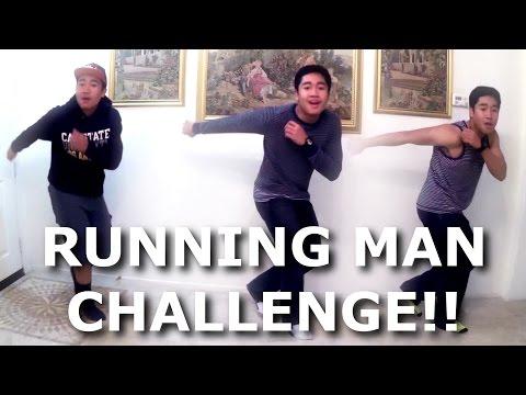 THE RUNNING MAN CHALLENGE!!!