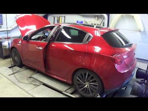 Alfa Romeo Giulietta 1750 TBI Quadrifoglio Verde tuning  Dyno Ryn  YouTube
