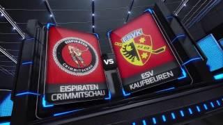 DEL2 Highlights 36. Spieltag | Eispiraten Crimmitschau vs. ESV Kaufbeuren