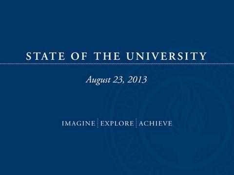 State Of The University 2013 | Butler University