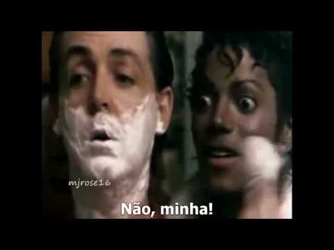 Michael Jackson & Paul McCartney - The Girl Is Mine (Música Legendada) FAN VIDEO