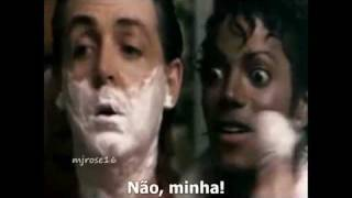 Michael Jackson & Paul McCartney - The girl is mine (Música Legendada) FAN VIDEO
