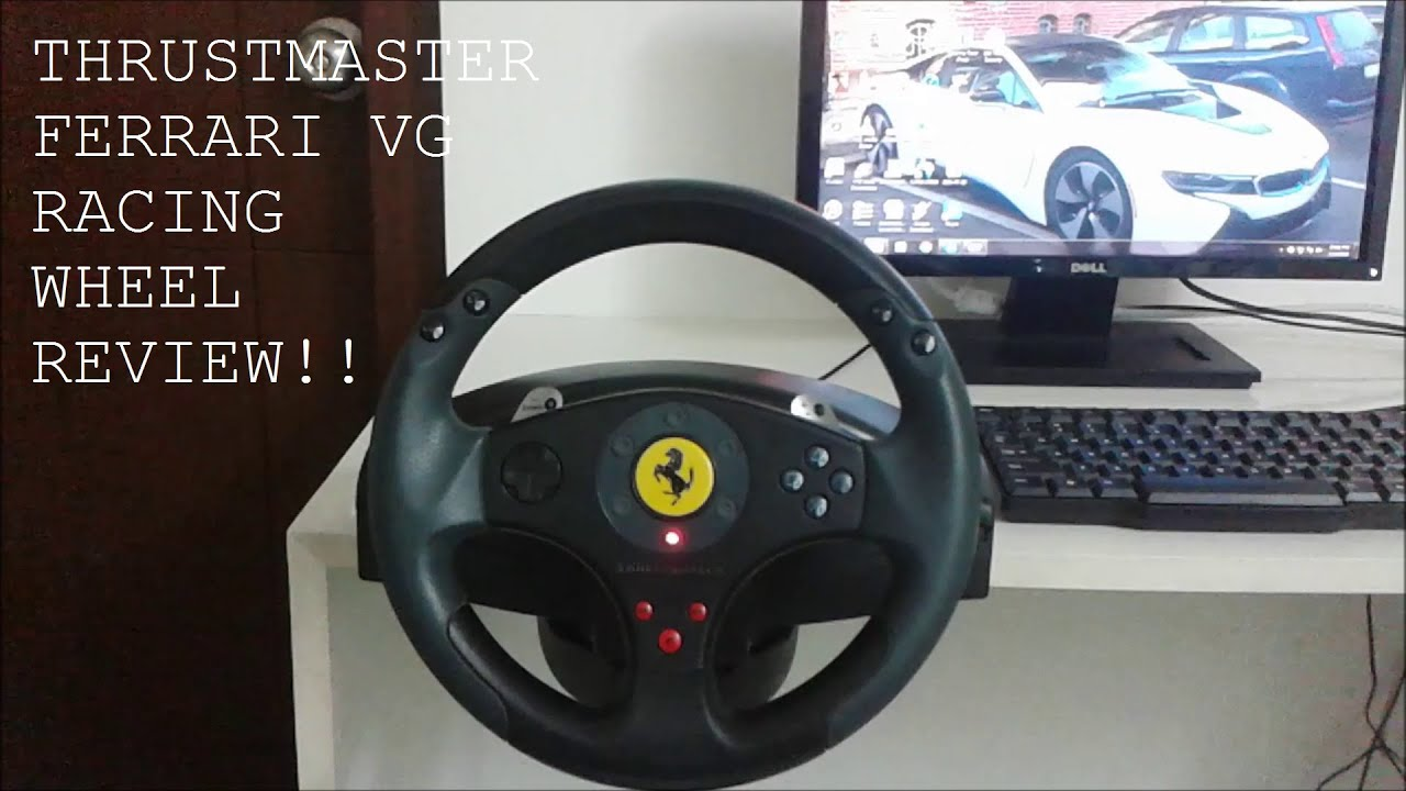 thrustmaster vg ferrari red legend racing wheel review. Black Bedroom Furniture Sets. Home Design Ideas