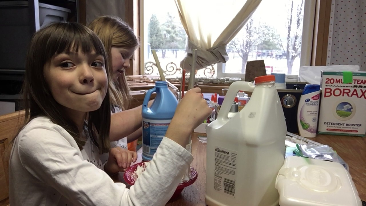 how to make soft serve slime with borax