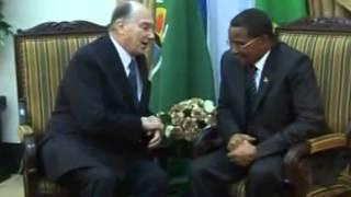 President Kikwete meets H H  Prince Karim Aga Khan IV in Dar es salaam