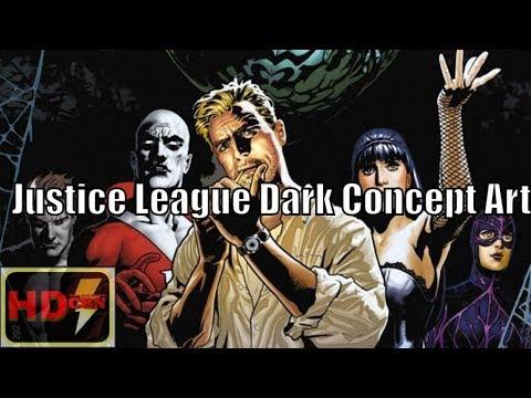 Justice League Dark Concept Art Gww