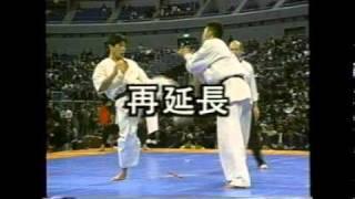 Norichika Tsukamoto vs Akira Masuda - The 6th Karate World Tourname...