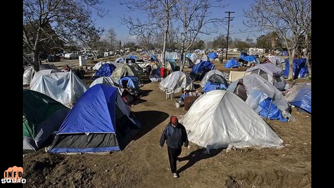 California Tent Cities Grow Massively! & California Tent Cities Grow Massively! - YouTube