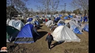 California Tent Cities Grow Massively!