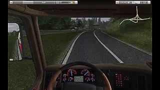 German Truck Simulator - Gameplay And Mods