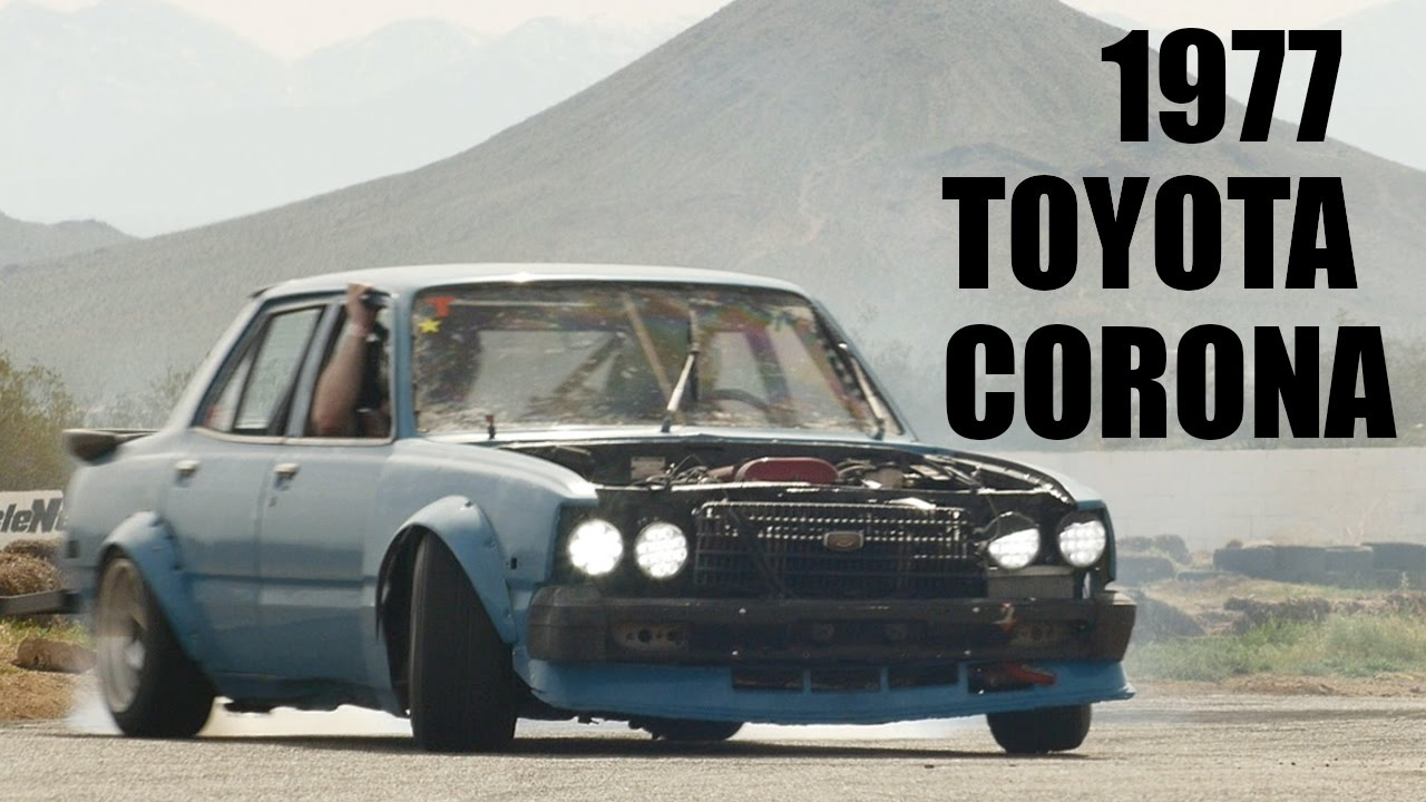1977 Toyota Corona At  U0026quot Corolla Springs Matsuri U0026quot  Drift