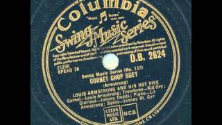 Louis Armstrong and his Hot Five - Cornet Chop Suey