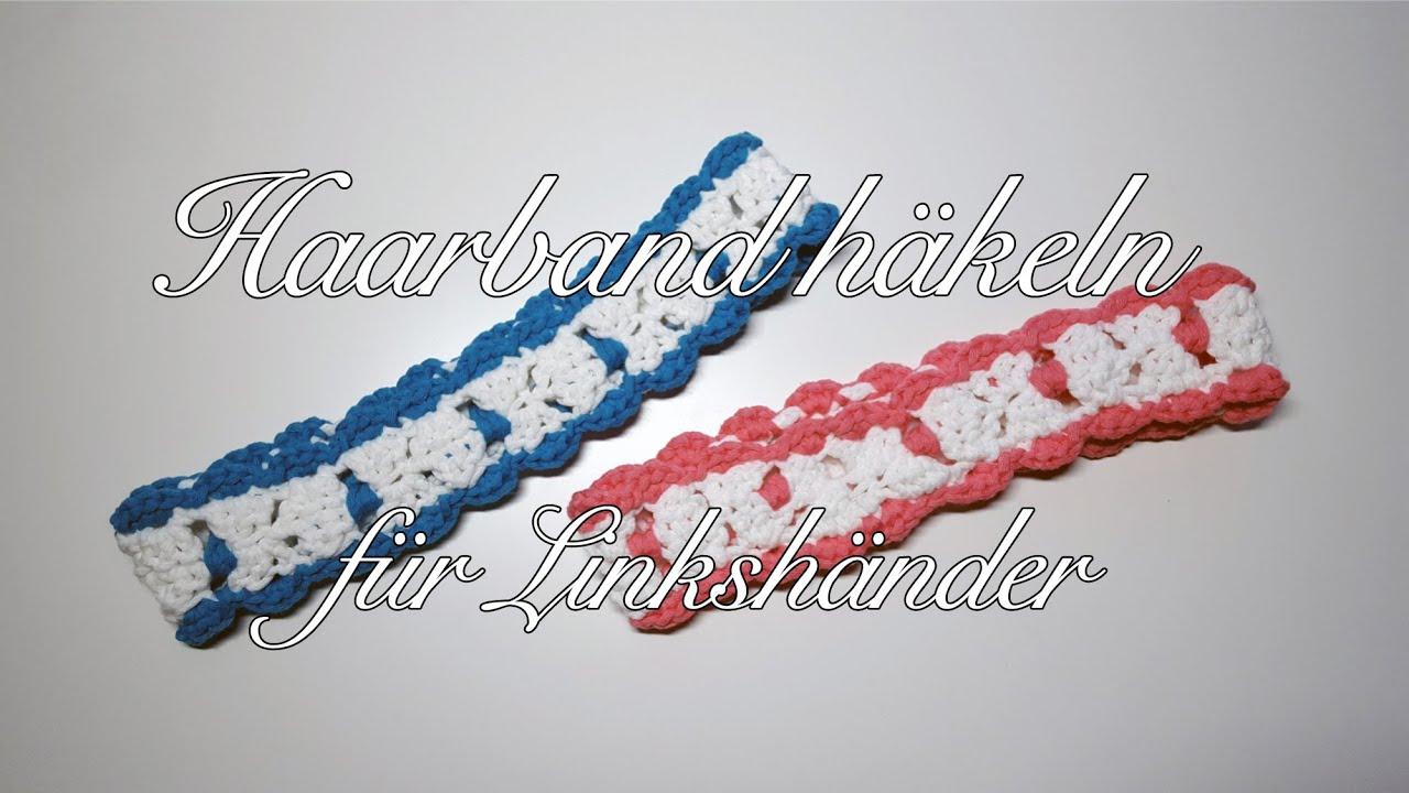 Haarband Häkeln Myboshi Haarband Hida Häkelanleitung Für