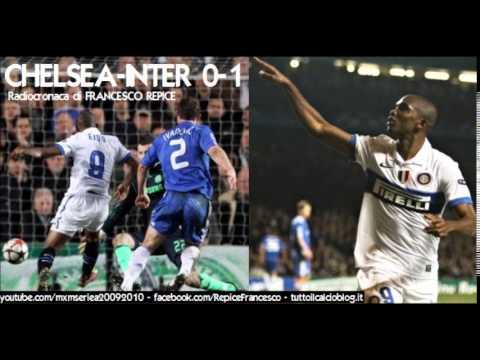 CHELSEA-INTER 0-1 - Radiocronaca di Francesco Repice (16/3/2010) Radio Rai