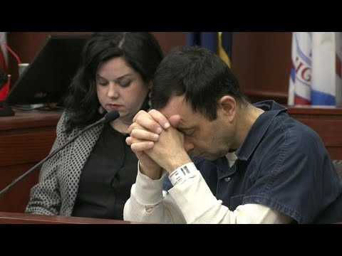 Ex-USA Gymnastics doc Larry Nassar faces assault victims