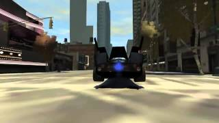 Grand Theft Auto IV - Infernus Batmobile (MOD)