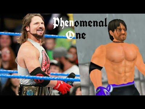 Top 30 Moves Of Aj Styles In Wr3d