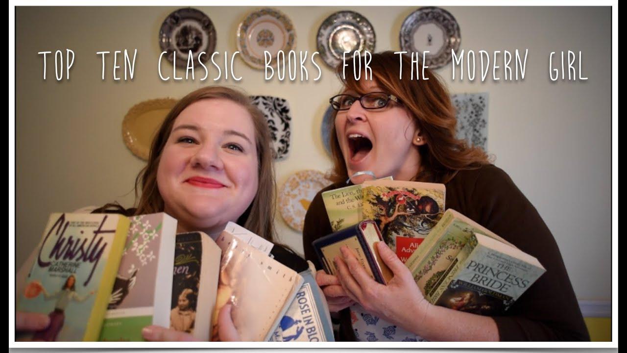 Top Ten Classic Books for Modern Girls  YouTube