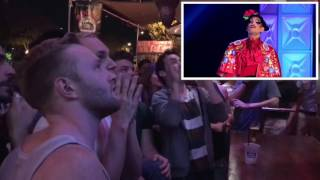 RPDR9 - Gay Bar reaction to Valentina's Elimination
