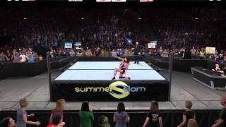 WWE2k15 [PS4] Brie Bella Fantasy Attire w Entrance