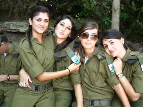 Girls Of The Israeli Military