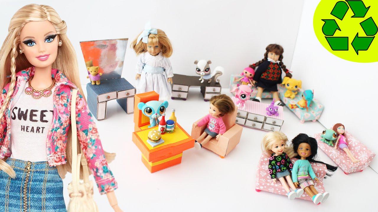 making doll furniture. Make Matchbox Doll Furniture - (2nd Part) Crafts Simplekidscrafts YouTube Making