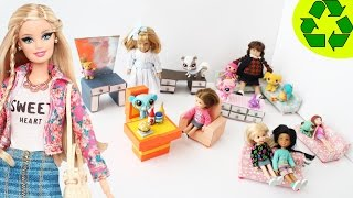 How To Make Doll Furniture - (2nd Part) - Doll Crafts
