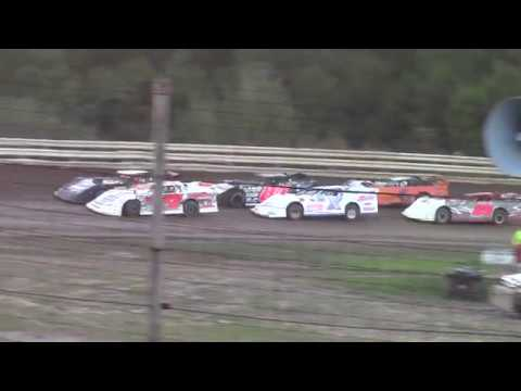 Hummingbird Speedway (9-15-18): BWP Bats Super Late Model Heat Race #3