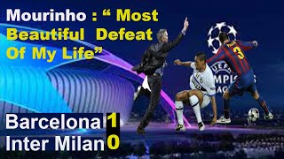 Barcelona vs Inter Milan 1 - 0 Champions League 2010 -  Semi  final (2nd leg)