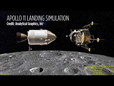 Watch Apollo 11's Moon Landing In Amazing Simulation