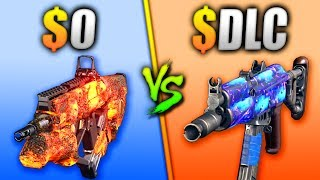 DLC vs FREE GUN - WHICH IS BETTER? - (BATTLE OF THE GUNS)