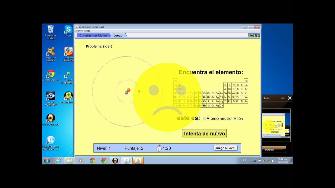 Software educativo juego qumica youtube software educativo juego qumica urtaz Image collections