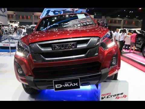 ภาพและราคา ISUZU D-MAX Bluepower V-CROSS 4door Limited ในงาน Bangkok Motor Show 2016 THAILAND