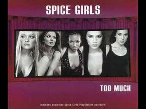 Spice girls too much karaoke/insrumental