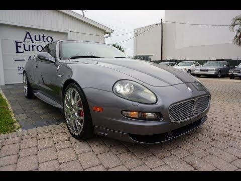 This 2006 Maserati GranSport Coupe Is A True Affordable Exotic With Soul