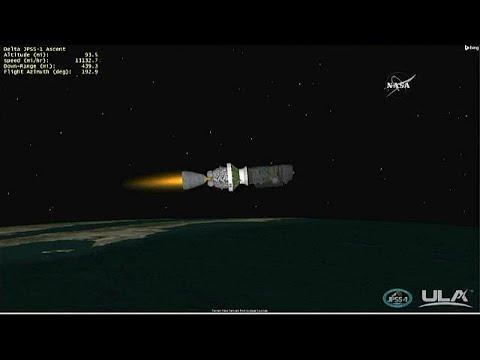 euronews (en español): La NASA pone en órbita un nuevo satélite meteorológico