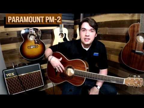 Fender PM-2 Parlor Acoustic