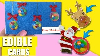 EDIBLE CHRISTMAS CARDS!You need to try.Original and creative ideas.