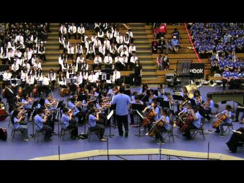 """""""Royal Court Dance"""" by Moanalua Elementary School Orchestra@2012 Moanalua Complex Concert"""
