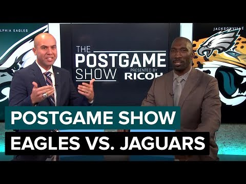Philadelphia Eagles vs. Jacksonville Jaguars Postgame Show | 2018 Week 8