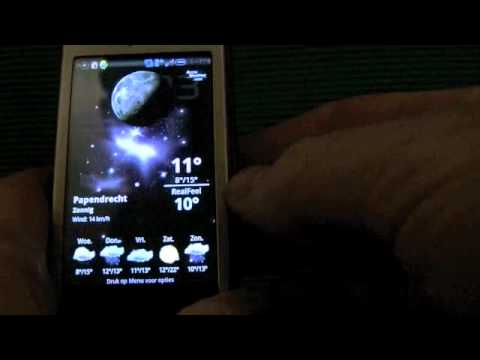Android 2.2 @ my old Sony Ericsson Xperia X1