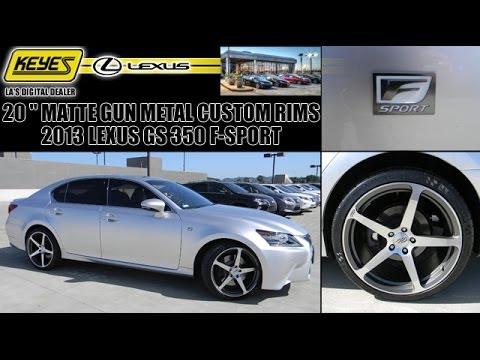 "Lexus Van Nuys >> Keyes Lexus LA's Digital Dealer 2013 Lexus GS 350 F-Sport Custom After Market c884 20"" CEC Rims ..."