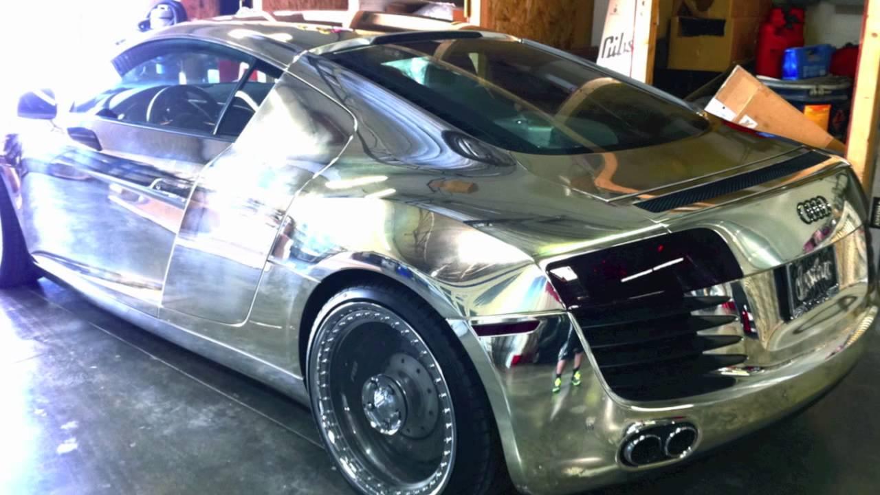 Tron Audi R8 West Coast Customs And Creations N Chrome
